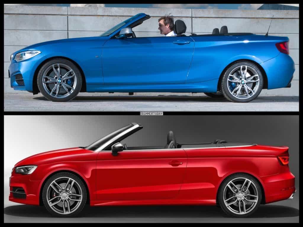 2er Cabrio und A3 Cabrio im Vergleich