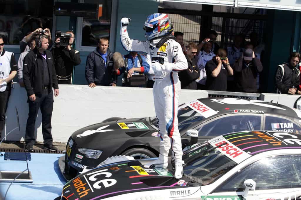 Marco Wittmann - DTM Champion 2014, BMW M4 DTM, Team RMG