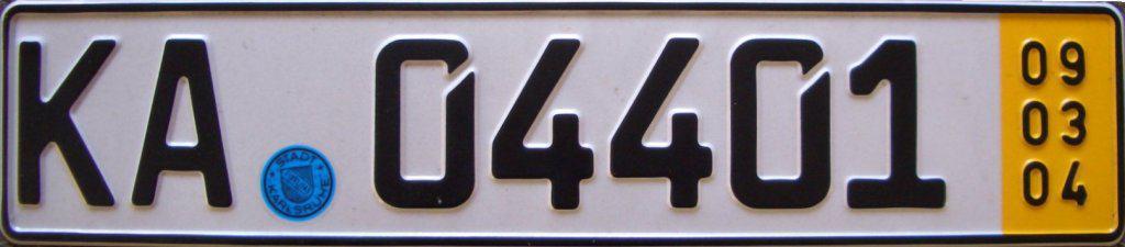 Deutsches_Kurzzeit-KFZ-Kennzeichen